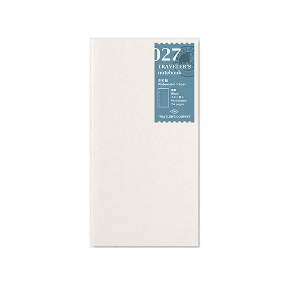 デザインフィル ミドリカンパニー Refill Watercolor Paper / レギュラーサイズ リフィル 水彩紙 手帳 リフィル 替え紙レギュラーサイズレギュラーサイズ