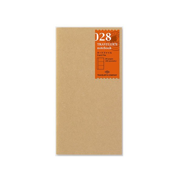 デザインフィル ミドリカンパニー Refill Card File / レギュラーサイズ リフィル カードファイル 手帳 リフィル 替え紙レギュラーサイズレギュラーサイズ