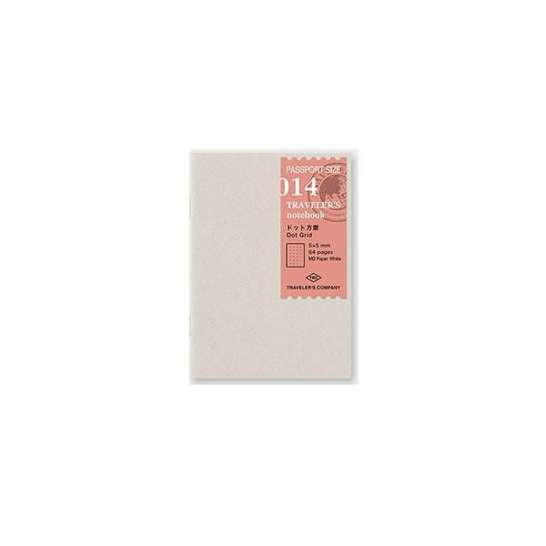 デザインフィル ミドリカンパニー Refill Dot Grid / パスポートサイズ リフィル ドット方眼 手帳 リフィル 替え紙パスポートサイズパスポートサイズ