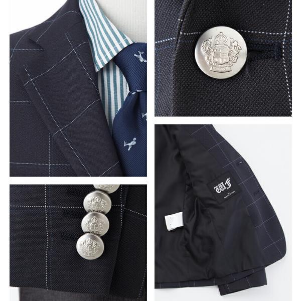 入学式 スーツ 男の子 小学生 卒園式 子供服 ブラックフォーマル 5点セット スーツ 110 120 130cm キッズフォーマル クロスチェック コン|kids-robe|08
