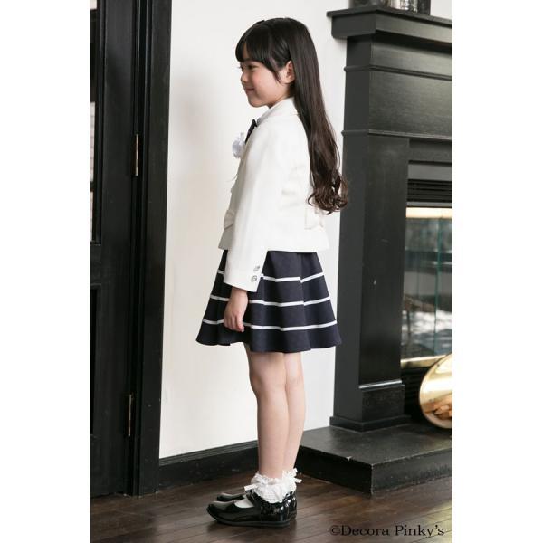 ブラックフォーマル 入学式 スーツ 女の子 5点セット デコラピンキーズ 120cm・130cm 子供服 女児スーツ フォーマルスーツ|kids-robe|03