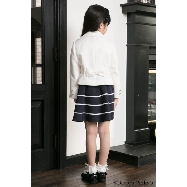 ブラックフォーマル 入学式 スーツ 女の子 5点セット デコラピンキーズ 120cm・130cm 子供服 女児スーツ フォーマルスーツ|kids-robe|04