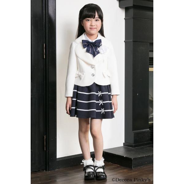 ブラックフォーマル 入学式 スーツ 女の子 5点セット デコラピンキーズ 120cm・130cm 子供服 女児スーツ フォーマルスーツ|kids-robe|05