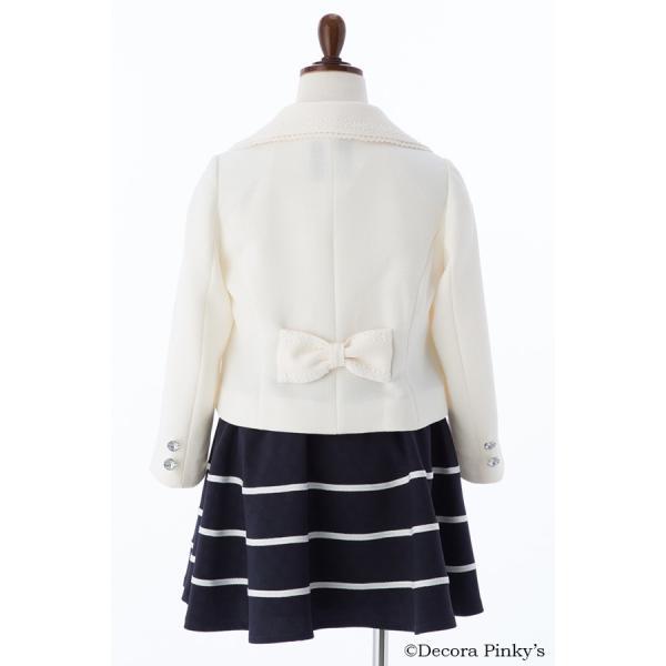 ブラックフォーマル 入学式 スーツ 女の子 5点セット デコラピンキーズ 120cm・130cm 子供服 女児スーツ フォーマルスーツ|kids-robe|07