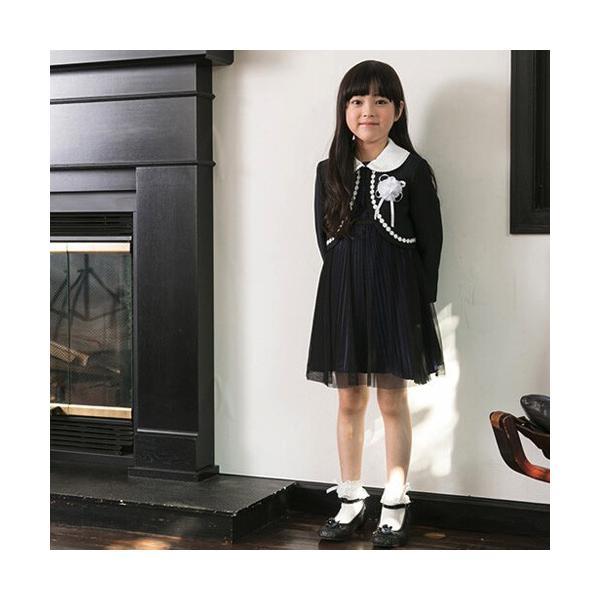 入学式 子供服 女の子 スーツ ボレロワンピース DECORA PINKY'S デコラピンキーズ 120cm・130cm 子供服 フォーマル kids-robe 02