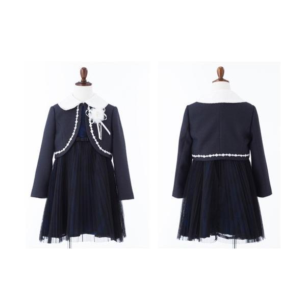 入学式 子供服 女の子 スーツ ボレロワンピース DECORA PINKY'S デコラピンキーズ 120cm・130cm 子供服 フォーマル kids-robe 13