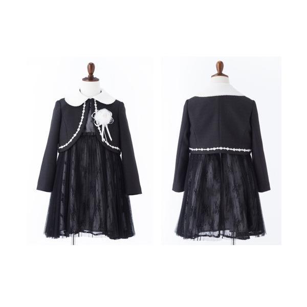 入学式 子供服 女の子 スーツ ボレロワンピース DECORA PINKY'S デコラピンキーズ 120cm・130cm 子供服 フォーマル kids-robe 14