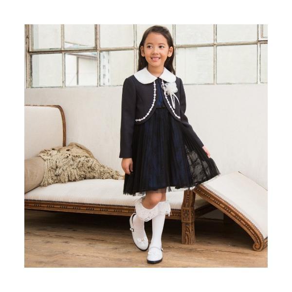入学式 子供服 女の子 スーツ ボレロワンピース DECORA PINKY'S デコラピンキーズ 120cm・130cm 子供服 フォーマル kids-robe 04
