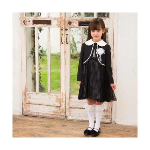 入学式 子供服 女の子 スーツ ボレロワンピース DECORA PINKY'S デコラピンキーズ 120cm・130cm 子供服 フォーマル kids-robe 06