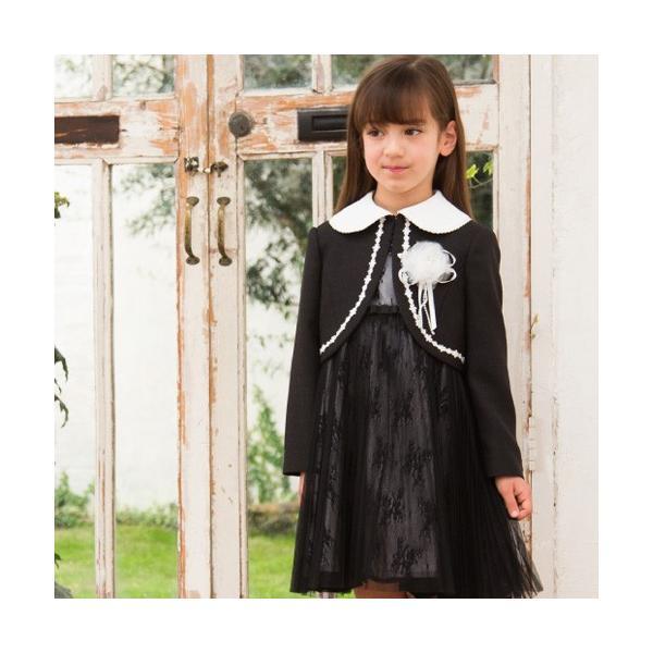 入学式 子供服 女の子 スーツ ボレロワンピース DECORA PINKY'S デコラピンキーズ 120cm・130cm 子供服 フォーマル kids-robe 07