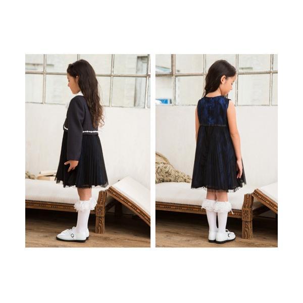 入学式 子供服 女の子 スーツ ボレロワンピース DECORA PINKY'S デコラピンキーズ 120cm・130cm 子供服 フォーマル kids-robe 09