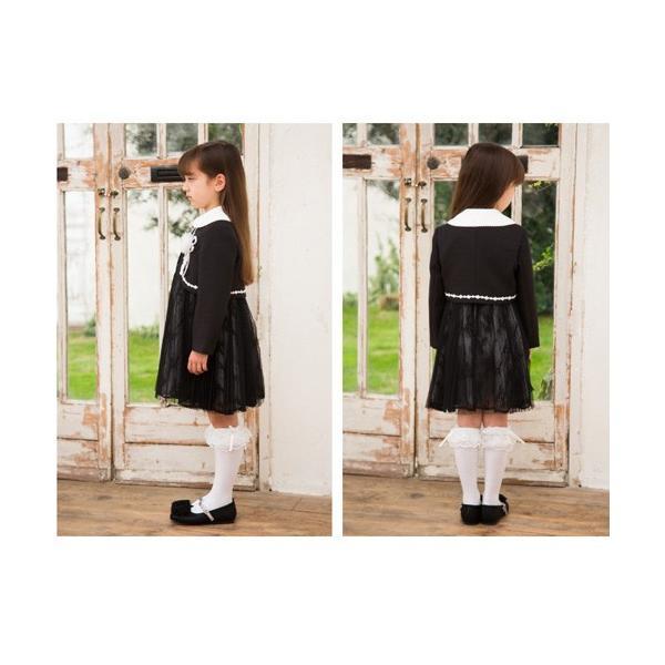 入学式 子供服 女の子 スーツ ボレロワンピース DECORA PINKY'S デコラピンキーズ 120cm・130cm 子供服 フォーマル kids-robe 10