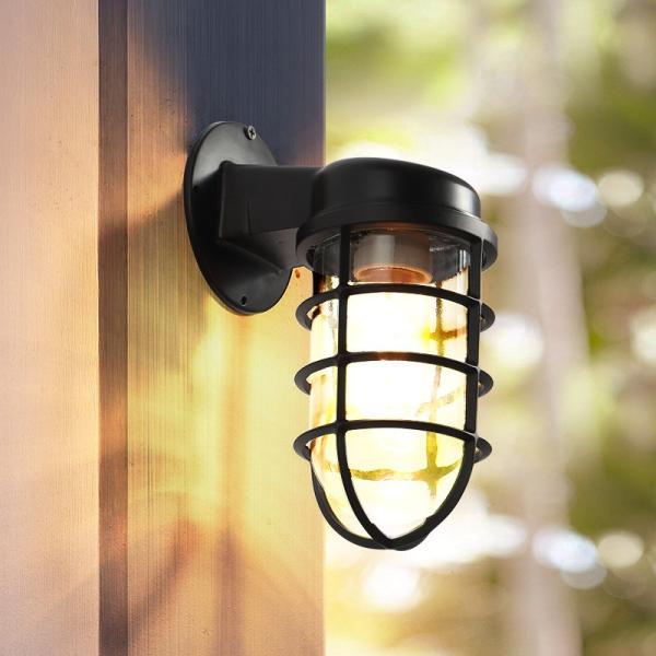ブラケットライト ポーチライト 壁掛けライト 照明 外灯 レトロ 防水 玄関照明 壁掛け照明  アンティーク 庭園灯 屋外用 ウォールランプ ガーデン 室内