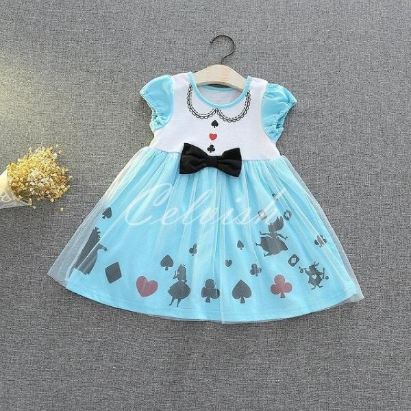 ディズニー ◇ コスプレ ドレス アリス 風 プリンセスドレス 子供 ワンピース   衣装 C-29582618|kigurumishop