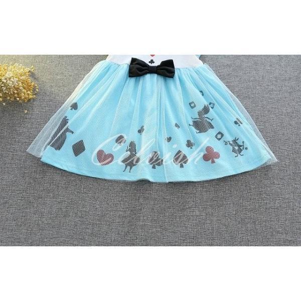 ディズニー ◇ コスプレ ドレス アリス 風 プリンセスドレス 子供 ワンピース   衣装 C-29582618|kigurumishop|04