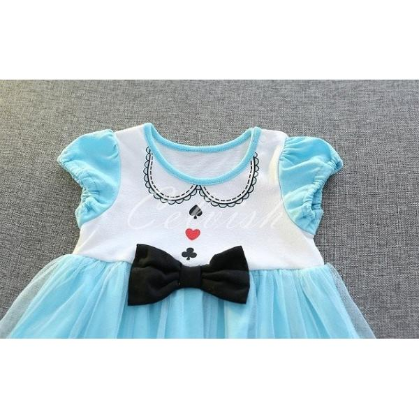 ディズニー ◇ コスプレ ドレス アリス 風 プリンセスドレス 子供 ワンピース   衣装 C-29582618|kigurumishop|06