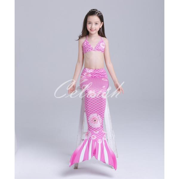f973d0b830a65 キッズ 人魚 水着 女の子 ディズニー コスプレ ドレス リトルマーメイド ...