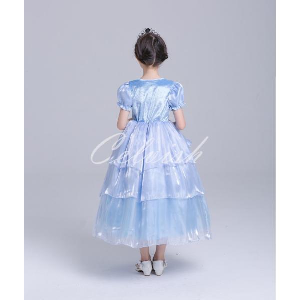 ディズニー ◇ コスプレ ドレス シンデレラ 風 子供 ドレス プリンセスドレス ◇ 衣装 仮装 USJ C-2958S303 kigurumishop 03