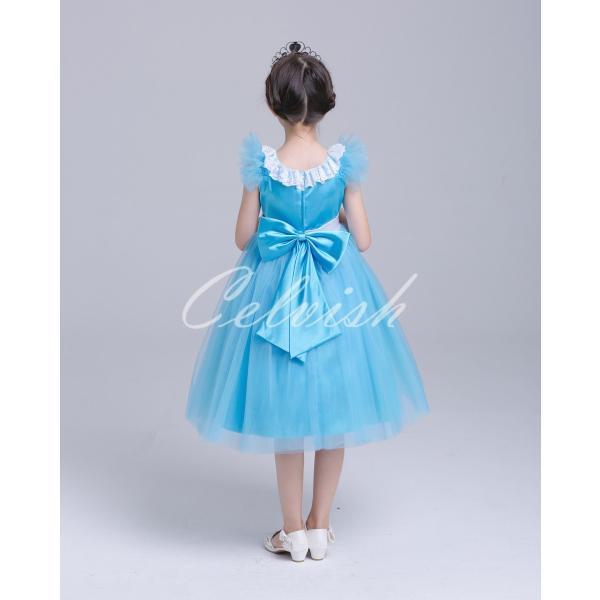 ディズニー ◇ コスプレ ドレス アリス 風 プリンセスドレス 子供 ワンピース   衣装 C-2958S991|kigurumishop|04