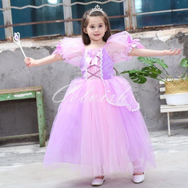 257eacd07429b ディズニー ソフィア 風 プリンセスドレス 子供 衣装 小さなプリンセス ...