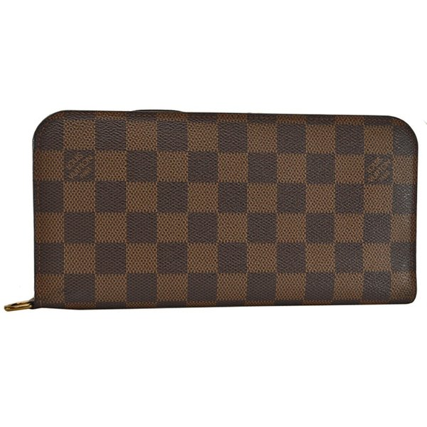 save off 074e0 0ae21 ルイ·ヴィトン LOUIS VUITTON 二つ折り長財布 財布 ダミエ ...