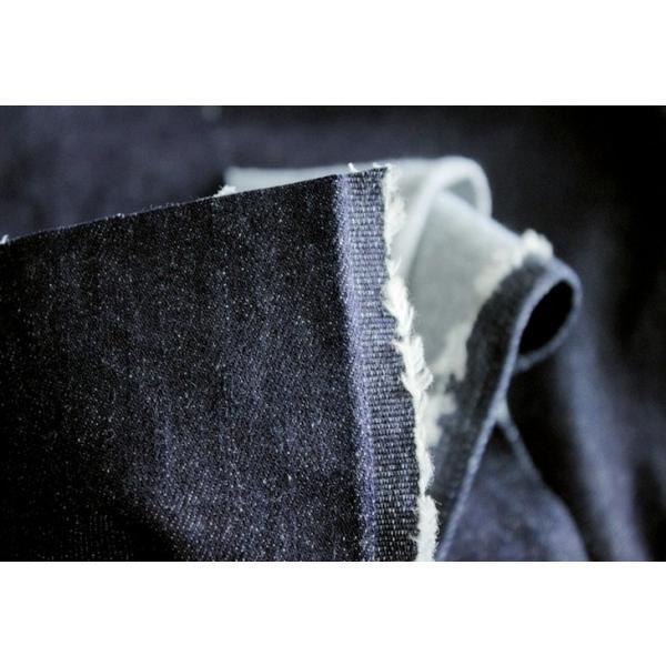 洗いをかけた 岡山の児島 9オンス くったりスーパーストレッチデニム ワンウォッシュ加工 インディゴ染め|kijishop-apuhouse|03