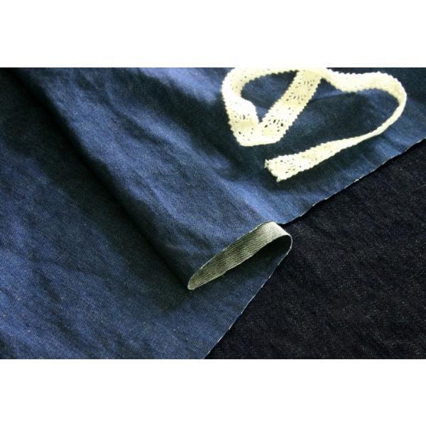 洗いをかけた 岡山の児島 9オンス くったりスーパーストレッチデニム ワンウォッシュ加工 インディゴ染め|kijishop-apuhouse|05