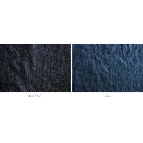 洗いをかけた 岡山の児島 9オンス くったりスーパーストレッチデニム ワンウォッシュ加工 インディゴ染め|kijishop-apuhouse|06