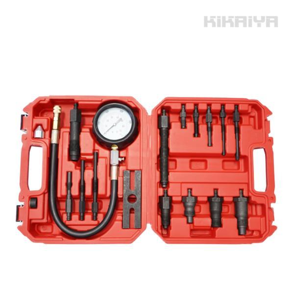ディーゼルエンジン コンプレッションゲージ Bセット コンプレッションテスター(認証工具) KIKAIYA|kikaiya-work-shop