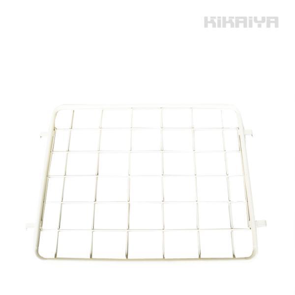 カゴ台車 ロールボックス(RB-10専用) 中間棚 (白) (個人様は営業所止め)KIKAIYA