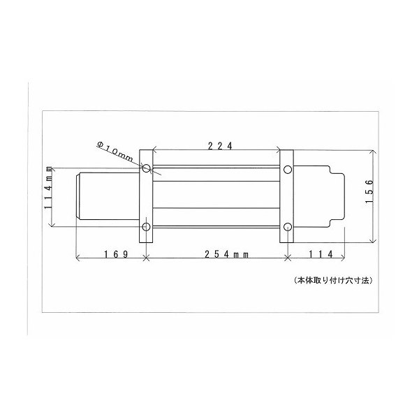 KIKAIYA 電動ウインチ24V 電動ホイスト 最大牽引能力4500kg 無線/有線リモコン|kikaiya|04