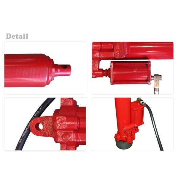 エンジンクレーン2トン用 油圧シリンダー 油圧ジャッキ(エアーポンプ付) KIKAIYA kikaiya 03