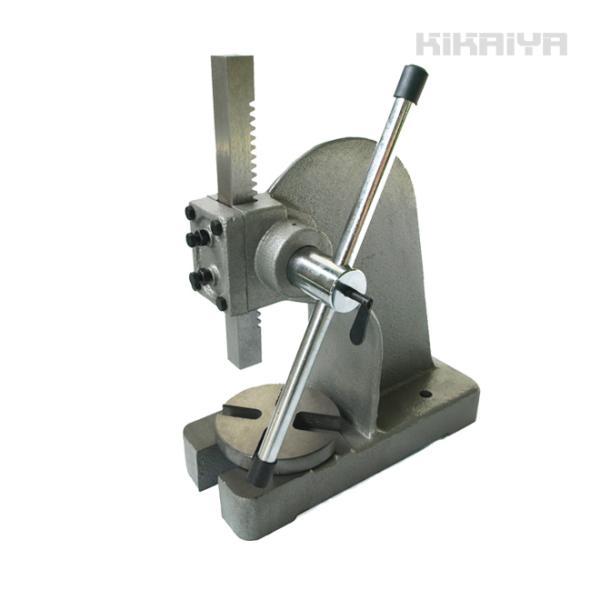 ハンドプレス 2トン アーバープレス 強力(法人様のみ配送可) KIKAIYA|kikaiya