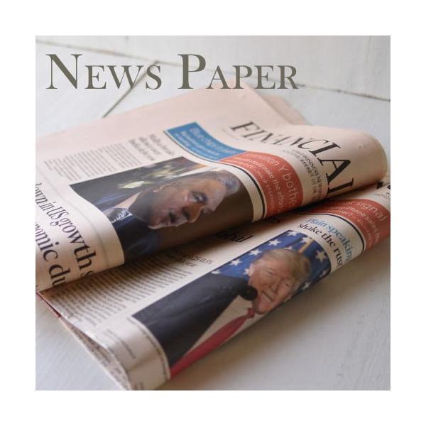 英字新聞(緩衝材用) 25枚入り/ 未使用イギリスの英字新聞25枚セット・緩衝材用 kikisuu