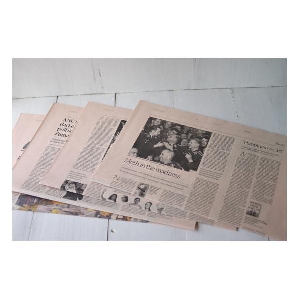 英字新聞(緩衝材用) 25枚入り/ 未使用イギリスの英字新聞25枚セット・緩衝材用 kikisuu 02