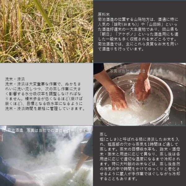 日本酒 木村式奇跡のお酒 純米酒 雄町80 1.8L|kikuchishuzo|07