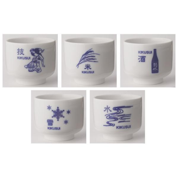 菊水オリジナル 利き猪口セット(コースター付)|kikusui-sake|02