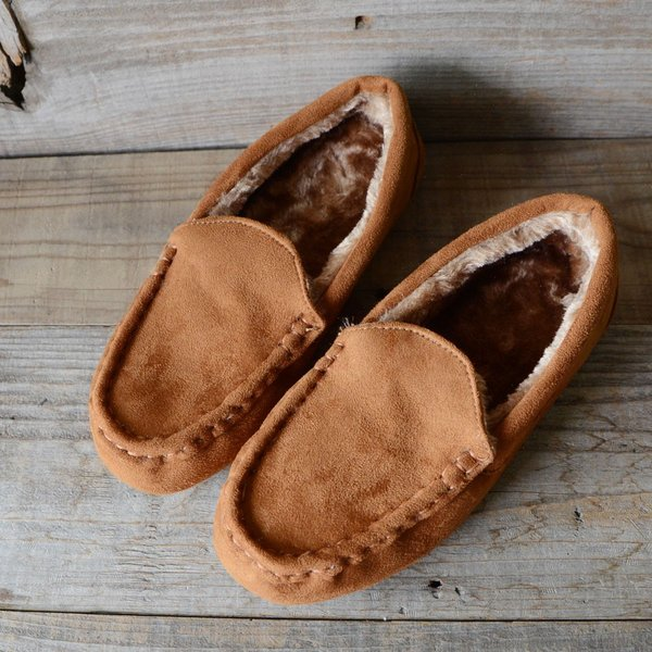 モカシン レディース モカシンシューズ ファー 内ボア フラットシューズ パンプス ローヒール ぺたんこ 痛くない 疲れない 歩きやすい 軽量 靴