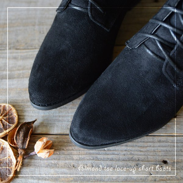 ブーツ レディース ショートブーツ レディース ローヒール 大きいサイズ レースアップ 歩きやすい 疲れにくい おしゃれ 黒 ブーティー 靴