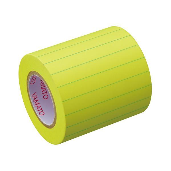 ヤマト メモックロールテープ ノート 罫線タイプ 詰替用 50mm NRK-50H-LK ロール付箋 ロールふせん 全面粘着 7mm罫線