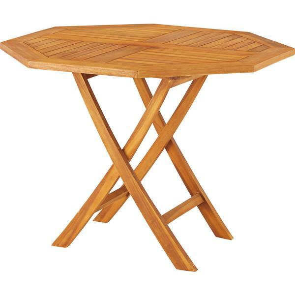 『代引不可』東谷 ダイニングテーブル 八角形 W1000×D1000×H750mm JTI-332 [ テーブル ガーデン 庭 バルコニー ベランダ ]
