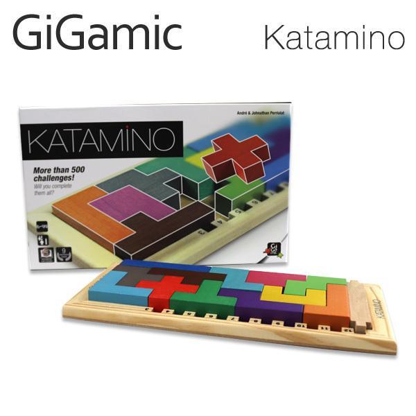 Gigamic ギガミック KATAMINO カタミノ GZKC パズル ボードゲーム 木製パズル 木製ゲーム 脳トレ 知育玩具 ゲーム 子ども