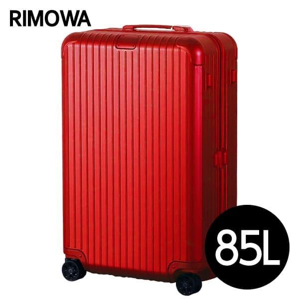 リモワ RIMOWA エッセンシャル チェックインL 85L グロスレッド ESSENTIAL Check-In L 832.73.65.4
