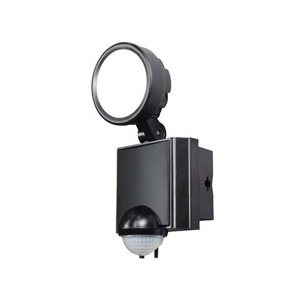 ELPA 屋外用 LEDセンサーライト LED防雨センサーライト 白色LED 1灯 600ルーメン AC電源コンセント式 ESL-SS801AC