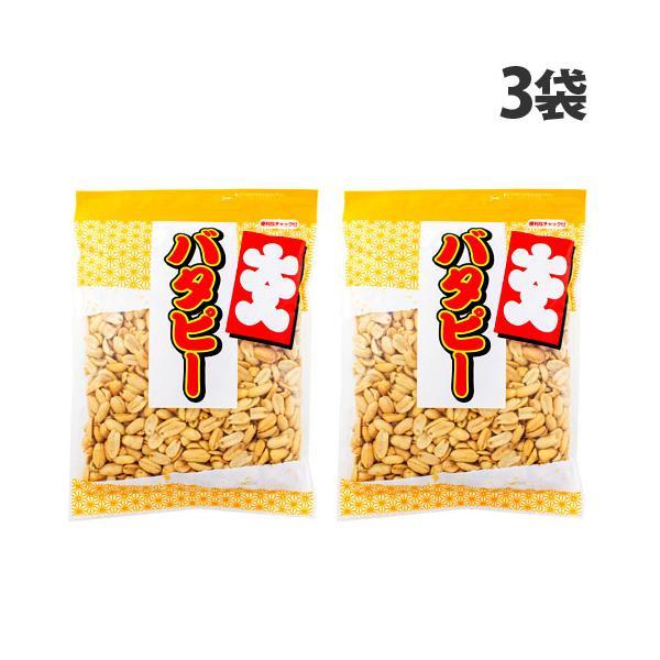 カネタ・ツーワン 大入りバターピー チャック付 500g×3袋 ピーナッツ 落花生 おつまみ お菓子 菓子 大容量