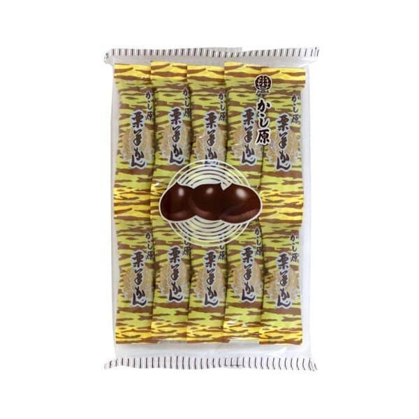 かし原 栗羊かん 10本入 お菓子 おやつ 和菓子 羊羹 ようかん 餡子 個包装