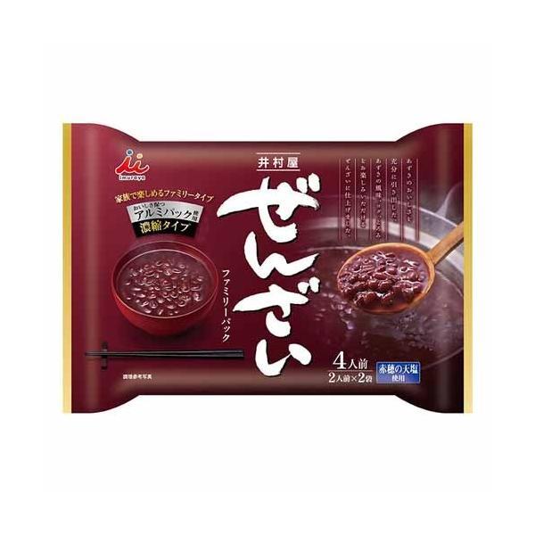 井村屋 ぜんざい ファミリーパック 200g×2P お菓子 かし おやつ 和菓子 小豆 デザート あんこ あずき