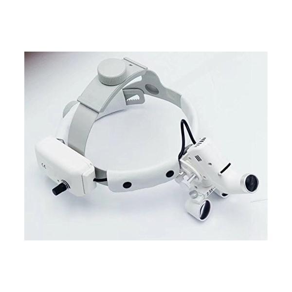 Doc.Royal LEDライト+2.5X拡大鏡 ヘッド式ライト 実験室用 デンタル用|kimakai|02