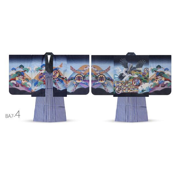 5才 男児 着物 羽織袴 アンサンブル 豪華13点セット 選べる11タイプ 七五三 お祝い 男の子 五才 着物セット|kimono-cafe|11