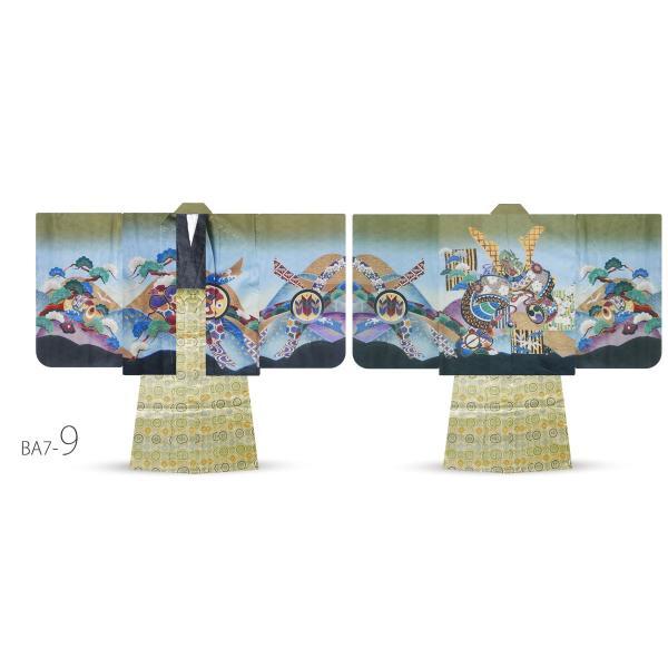 5才 男児 着物 羽織袴 アンサンブル 豪華13点セット 選べる11タイプ 七五三 お祝い 男の子 五才 着物セット|kimono-cafe|16